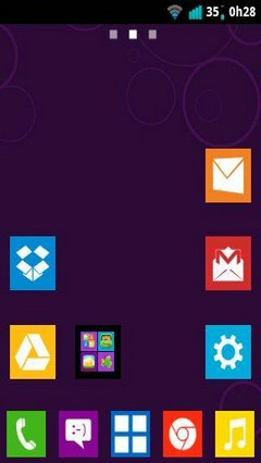 Windows 8 Metro Go Launcher EX