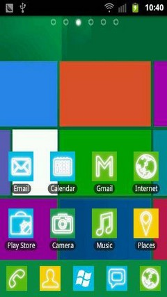 Windows8 GO Launcher EX Theme
