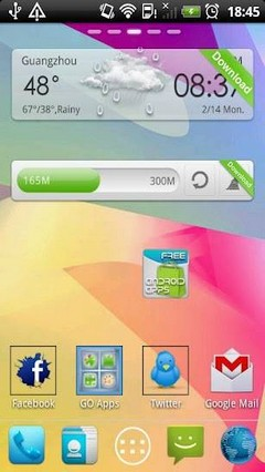 Jelly Bean Go Launcher EX