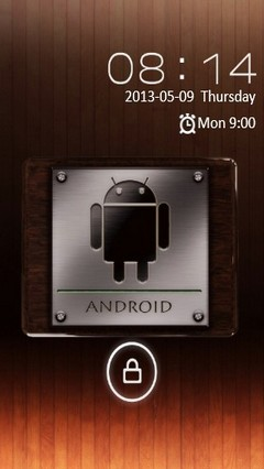 Android Metal & Wood Locker