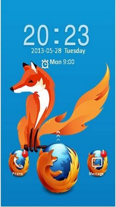 firefox os go locker theme