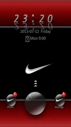 Red Nike Go Locker 2