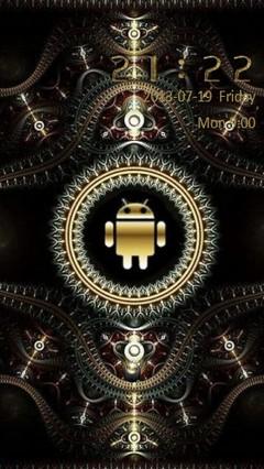 Golden Android Go Locker 2