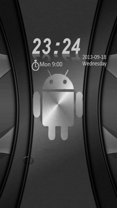 Metal Android Go Locker