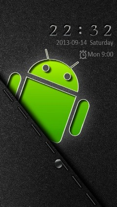 Android Logo Go Locker