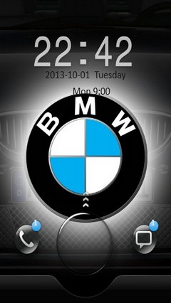 BMW Logo Go Locker
