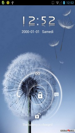 Galaxy S3 Lock Screen for go locker