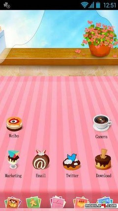 Dessert - Apex Launcher Theme
