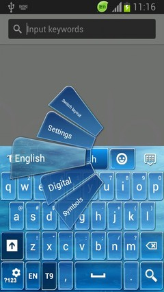 Keypad for Huawei Ascend Y300