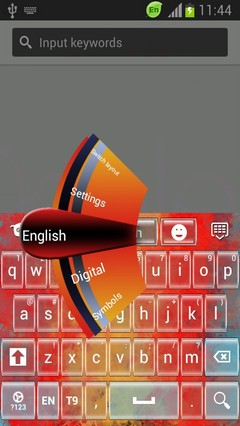 Keyboard for Motorola Moto X