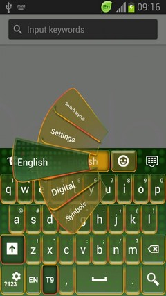 Keyboard for HTC One XL