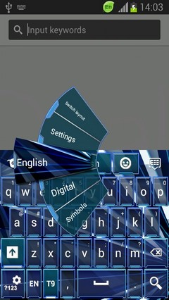 Keyboard for HTC Desire 500