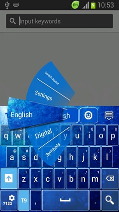 Keyboard for Samsung Galaxy Stellar