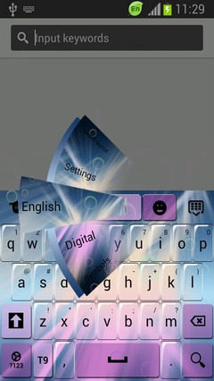 Color Keyboard for Galaxy Note 2