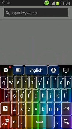 Keyboard for Samsung Galaxy Nexus