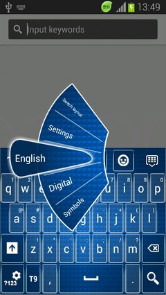 Keyboard for Samsung Galaxy Ace