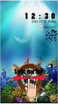 Under Water Go Locker Theme