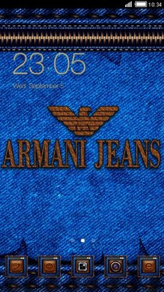 Fashion Brands Logo (Armani Jeans)