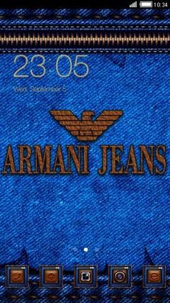 Fashion Brands Logo (Armani Jeans)