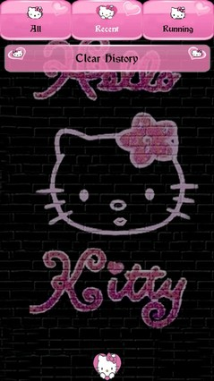 hello kitty go launcher theme