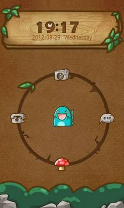 Monster GO Locker Theme