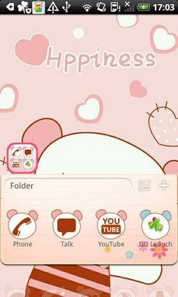 Go Launcher Happyness Theme