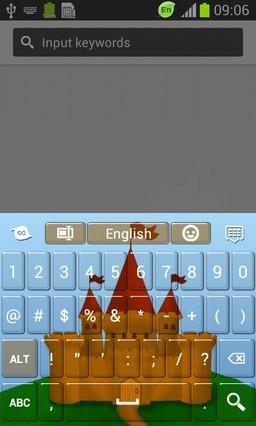 Castle Theme Keyboard-release