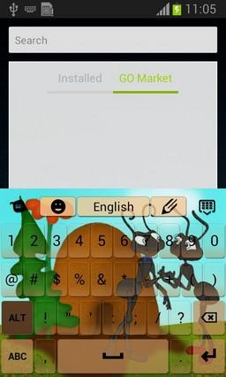 Ants Keyboard