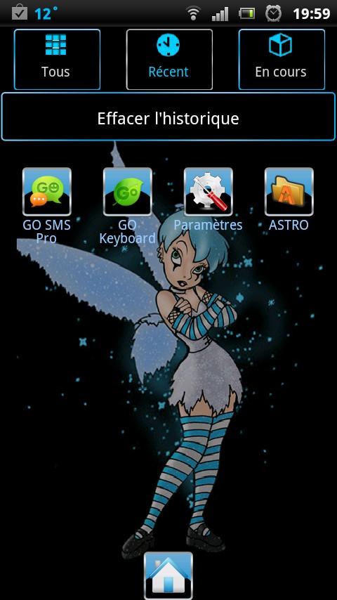 Blue Tinkerbel