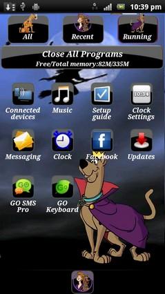 Scooby doo go launcher ex theme