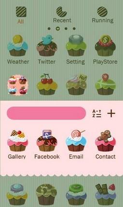 Cupcakes GO Launcher Theme