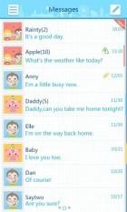 GO SMS Pro FriendsBook ThemeEX