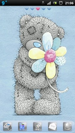 Tatty teddy flower
