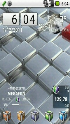 Theme cube