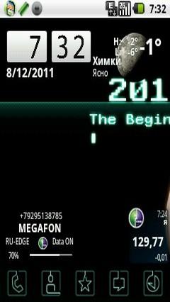 The Beginning2012 Theme GO Launcher EX 1.0