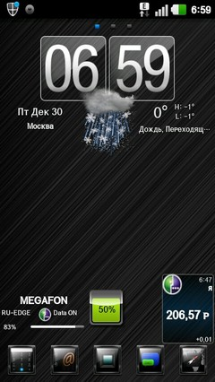 Theme Leeks16DARK GO Launcher EX 1.0
