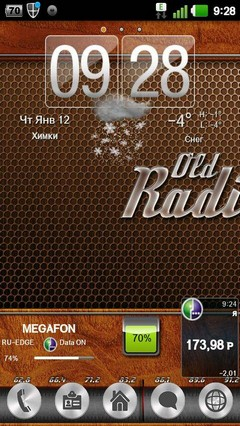 OldRadio GO Launcher Theme 1.0