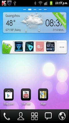 Theme Purity Go Launcher EX