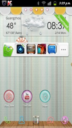 Candy Store GO Launcher Theme v1.0