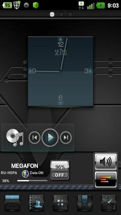 Seven Go Launcher EX Theme 1.1