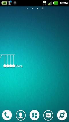 Swing GO Holistic Theme 1.0