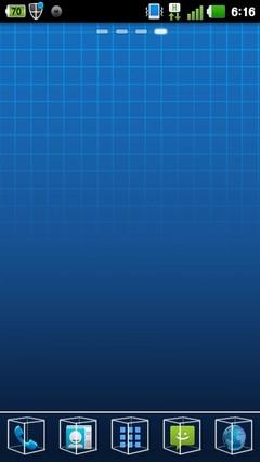 3D Line Theme Go Launcher EX 1.0