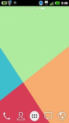 GO LAUNCHER FLAT THEME 1.1.1