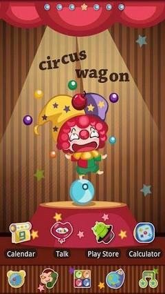 Circus Go Launcher EX Theme