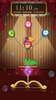Circus Go Locker Theme
