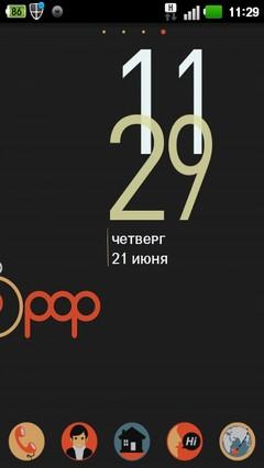 Pop GO LauncherEX Theme 1.0