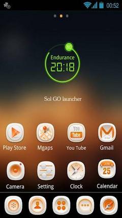 Sol GO Launcher EX Theme v1.0