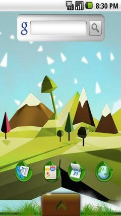 Illustration Theme Green