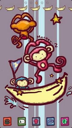 Monkey Z Theme GO Launcher EX