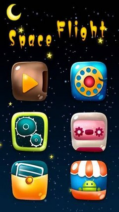 Space Flight GO Launcher Theme v1.0